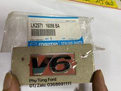 Chữ V6, lô gô trước Mondeo / LS2S7116098BA – UH7651710BB