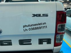 Tem đề can chữ XLS dán cửa thùng sau Ford Ranger