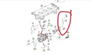 Tuy ô đường nhiên liệu Ranger/ BB3Q9J280AB U2021349X U2021349XA